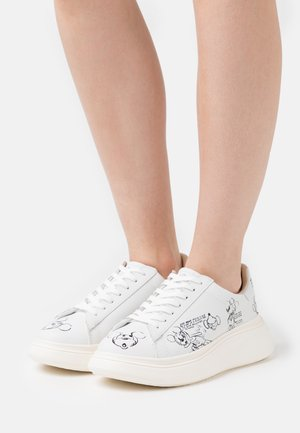 DOUBLE GALLERY - Sneakers laag - black