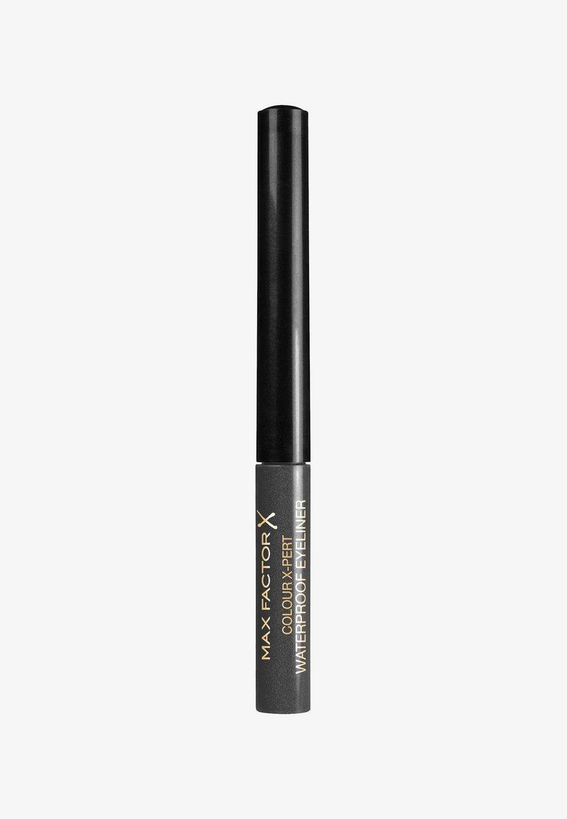 Max Factor - COLOUR X-PERT WATERPROOF EYELINER - Eyeliner - 2 metallic anthracite