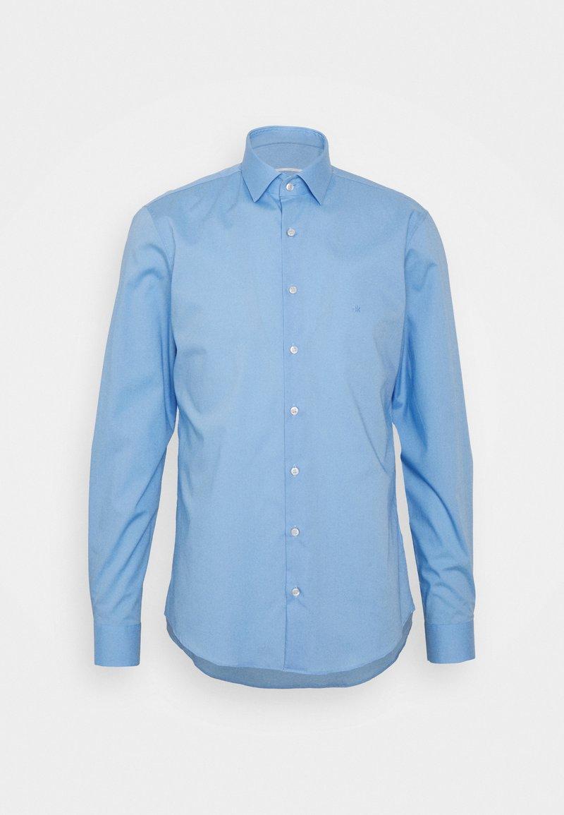 Calvin Klein Tailored - STRETCH SLIM SHIRT - Formal shirt - blue