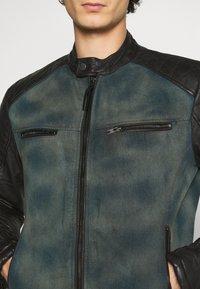 Be Edgy - ANDY  - Leather jacket - indigo - 5