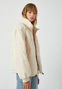 PULL&BEAR - Winter jacket - beige - 4