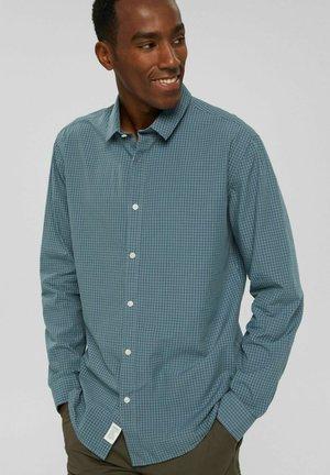 COO MINI CHECK - Shirt - petrol blue