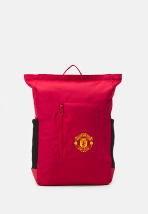 MANCHESTER UNITED BACKPACK UNISEX - Fanartikel - real red/black/yellow