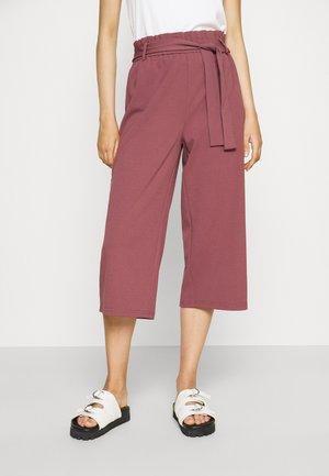 ONLHARRIS CAROLINA CULOTTE BELT - Kalhoty - pink