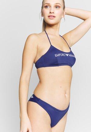 BRALETTE & BRAZILIAN BREIF LOGO LOVER SET - Bikini - indigo blue