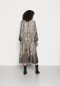Cream - MARLENE DRESS - Maxi dress - gunmetal - 2