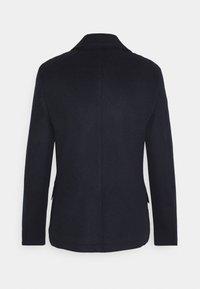 Isaac Dewhirst - PEA COAT - Classic coat - dark blue - 1