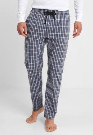 Pyžamový spodní díl - blue-dark-check