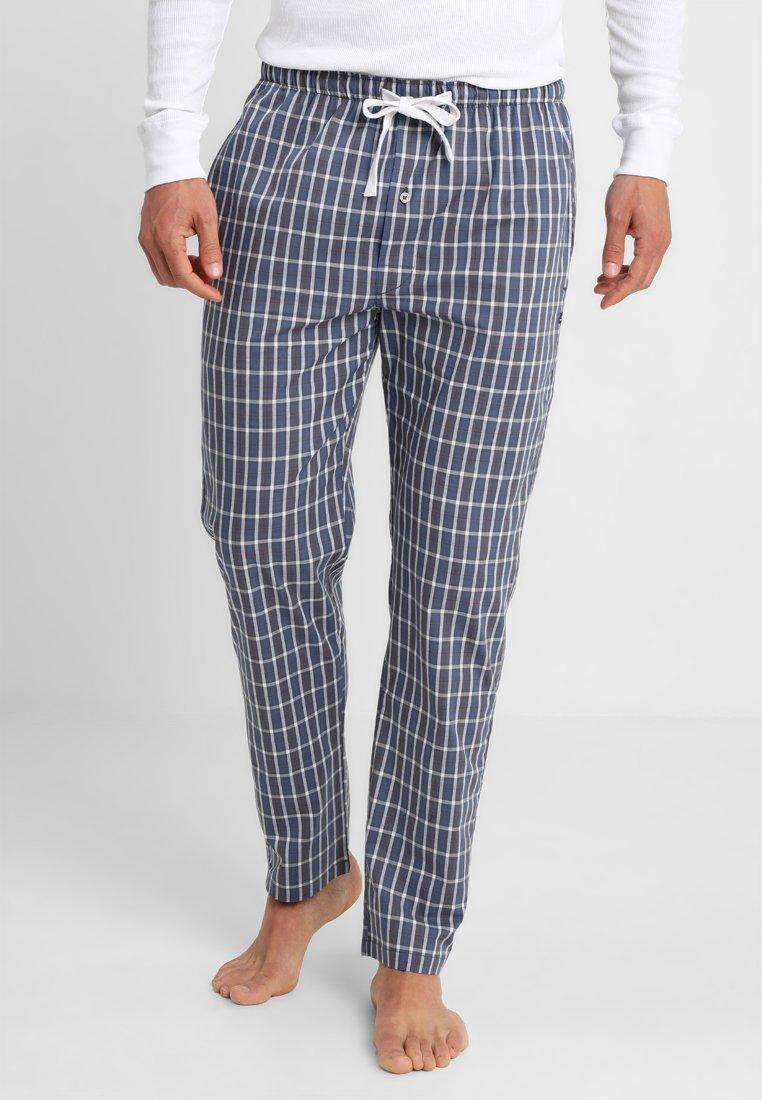 TOM TAILOR - Pyjama bottoms - blue-dark-check