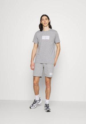 BOX LOGO TWINSET SET - Camiseta estampada - grey