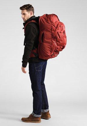 FARPOINT - Trekkingrucksack - jasper red
