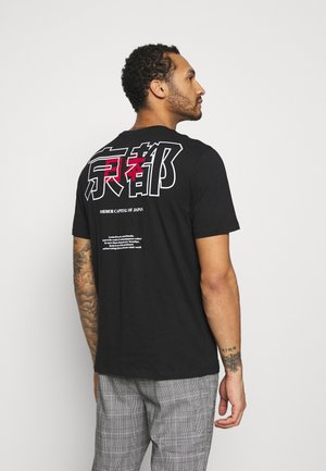 ONSAKI LIFE TEE - T-shirt con stampa - black