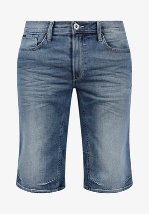 DENON - Denim shorts - denim ligh