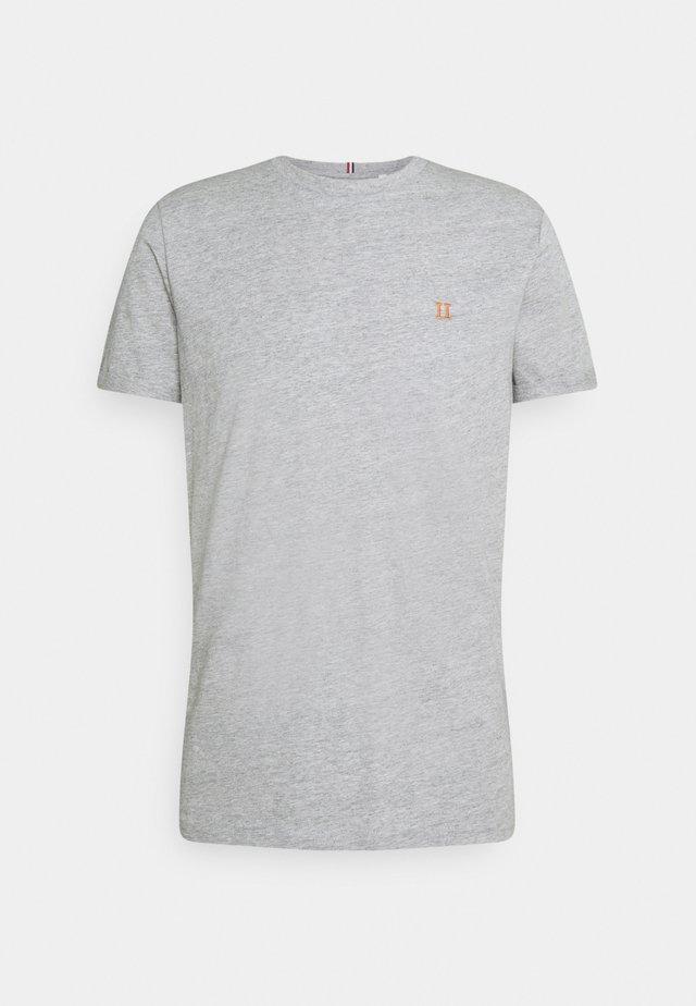 NØRREGAARD - T-shirt basic - grey melange