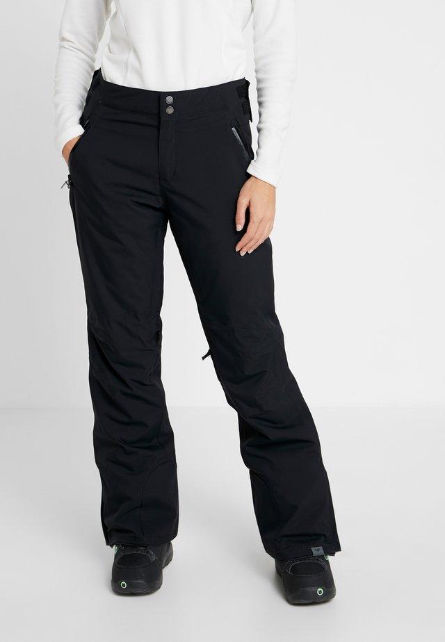 MONTANA - Spodnie narciarskie - true black