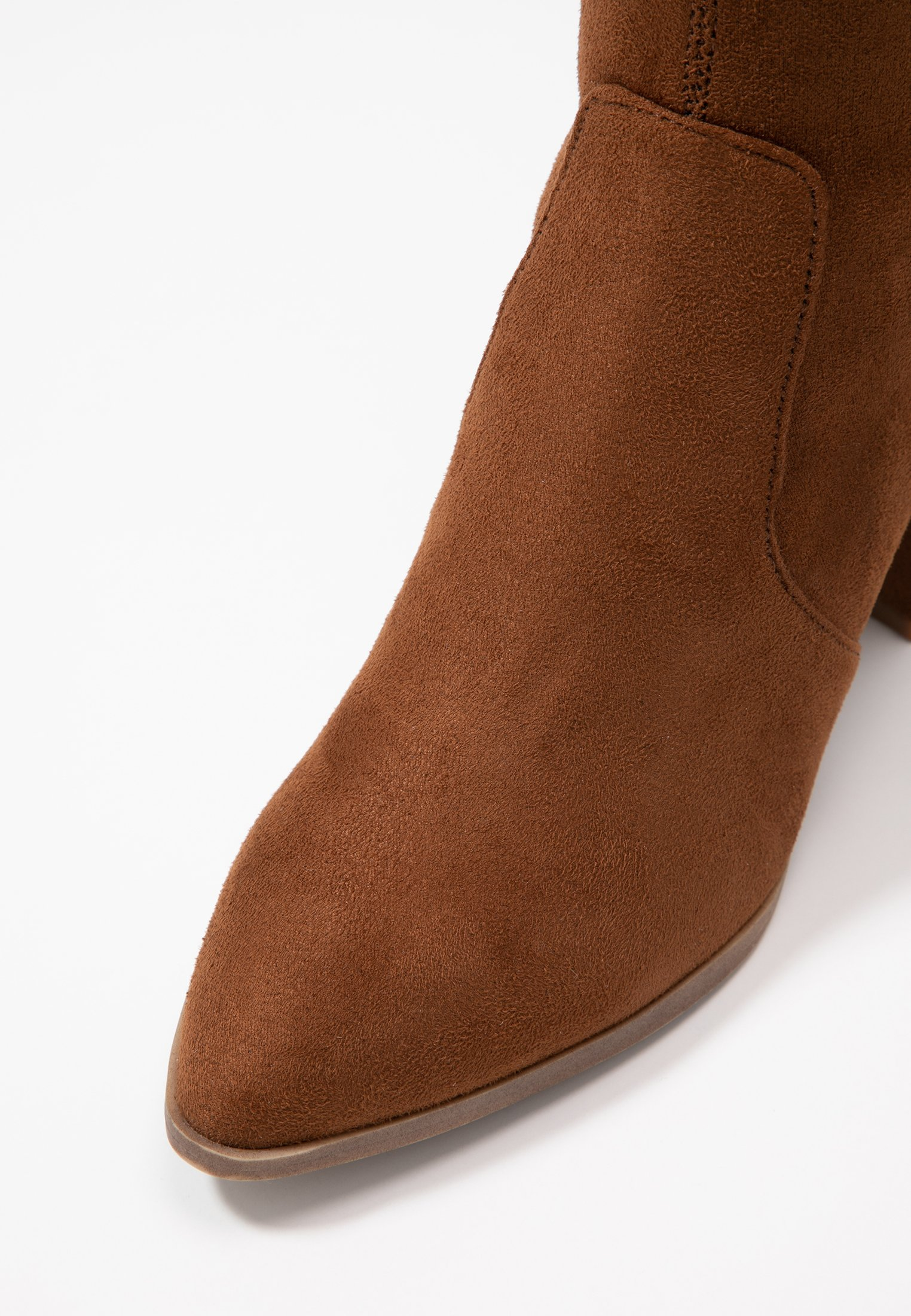 JANEY Overknee laarzen brown