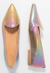 Chatelles - FRANÇOIS POINTY - Półbuty wsuwane - rainbow metallic/rose gold - 3