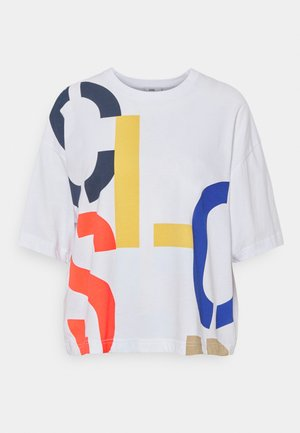 WOMEN´S - Print T-shirt - white