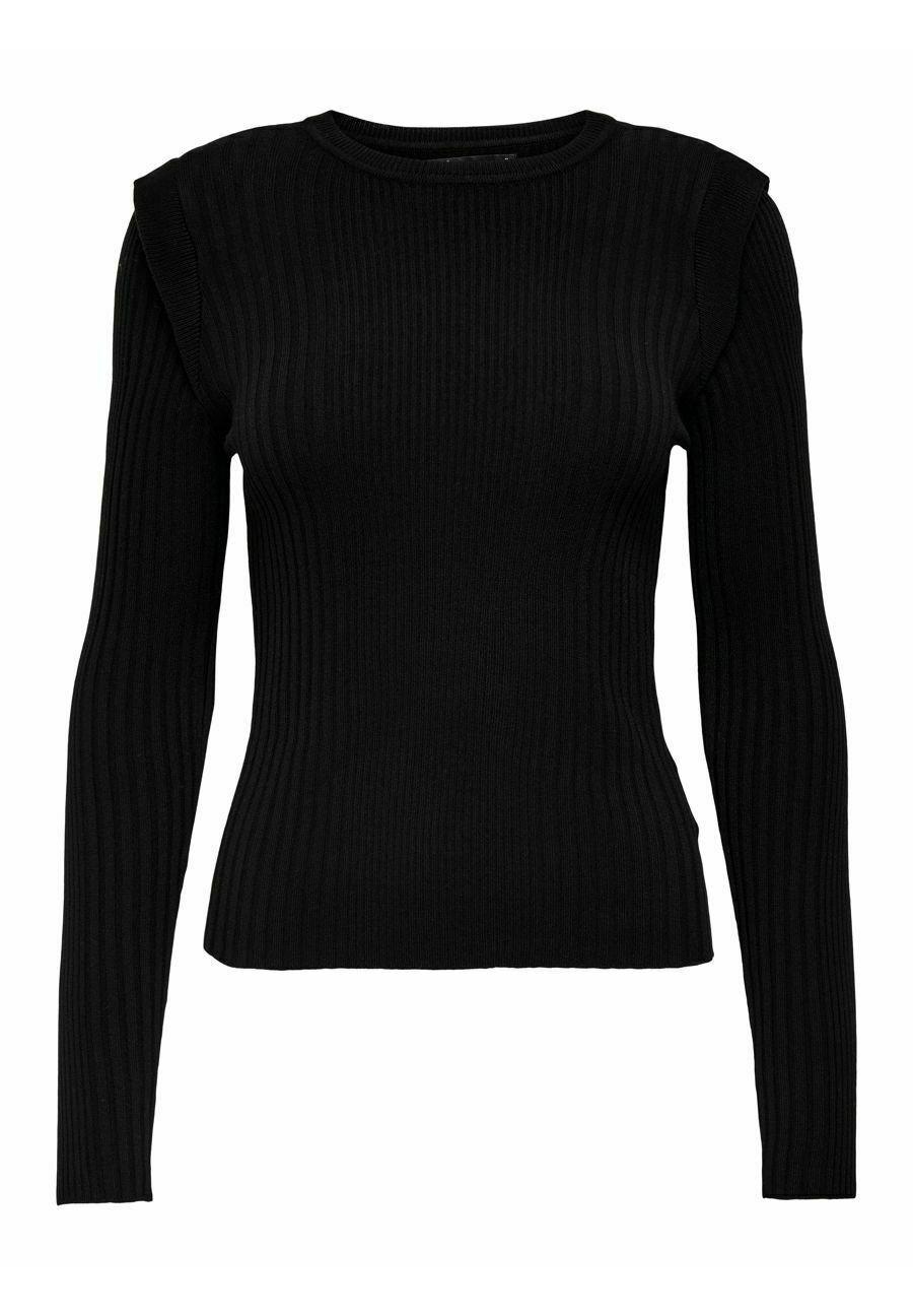 Damen GERIPPT - Langarmshirt