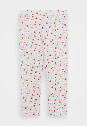 NOVELTY CROPPED - Legging - ivory/multicolor