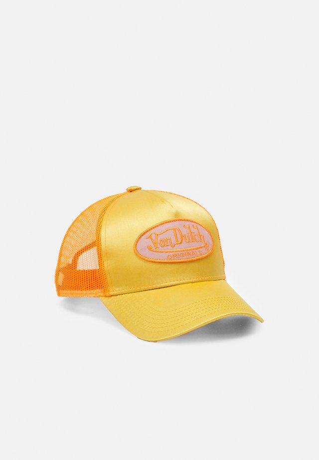 TRUCKER UNISEX - Cap - gold/orange