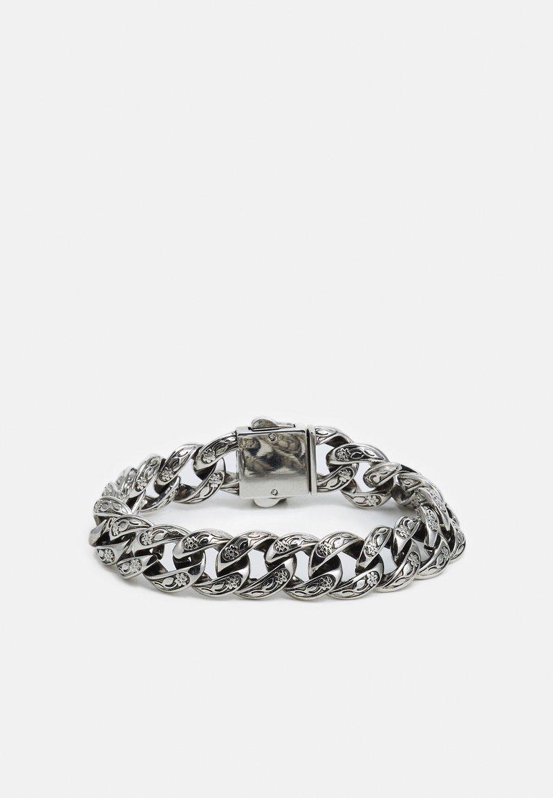 Urban Classics - MONUMENTAL BASIC BRACELET - Rannekoru - silver-coloured