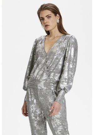 Bluse - silver