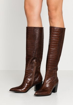 ADROENIA - Stiefel - medium brown