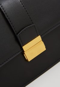 Gina Tricot - JOLINE BAG - Across body bag - black/antique gold - 5