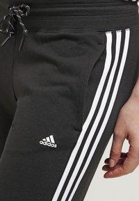 adidas Performance - ESSENTIALS  - Verryttelyhousut - black/white - 4