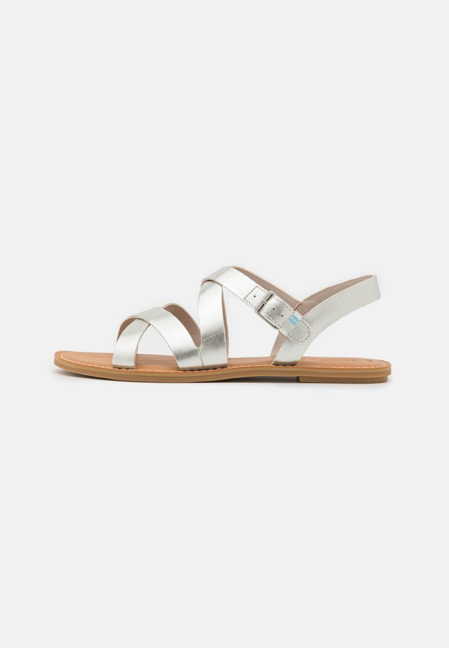 SICILY - Sandals - silver
