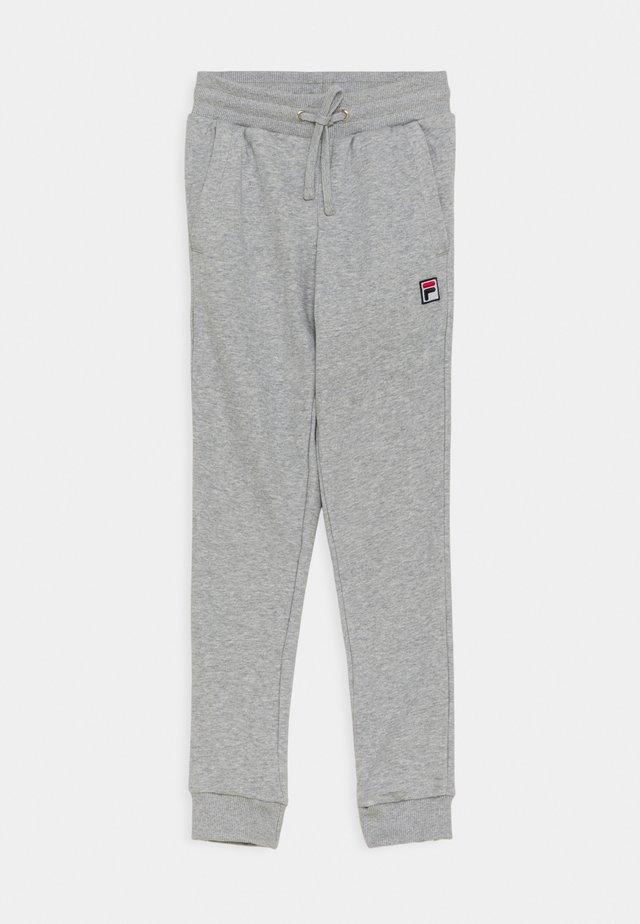 LARRY KIDS - Teplákové kalhoty - light grey melange