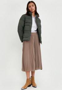 Finn Flare - Winter jacket - dark green - 1