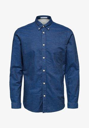NOLAN - Hemd - medium blue denim