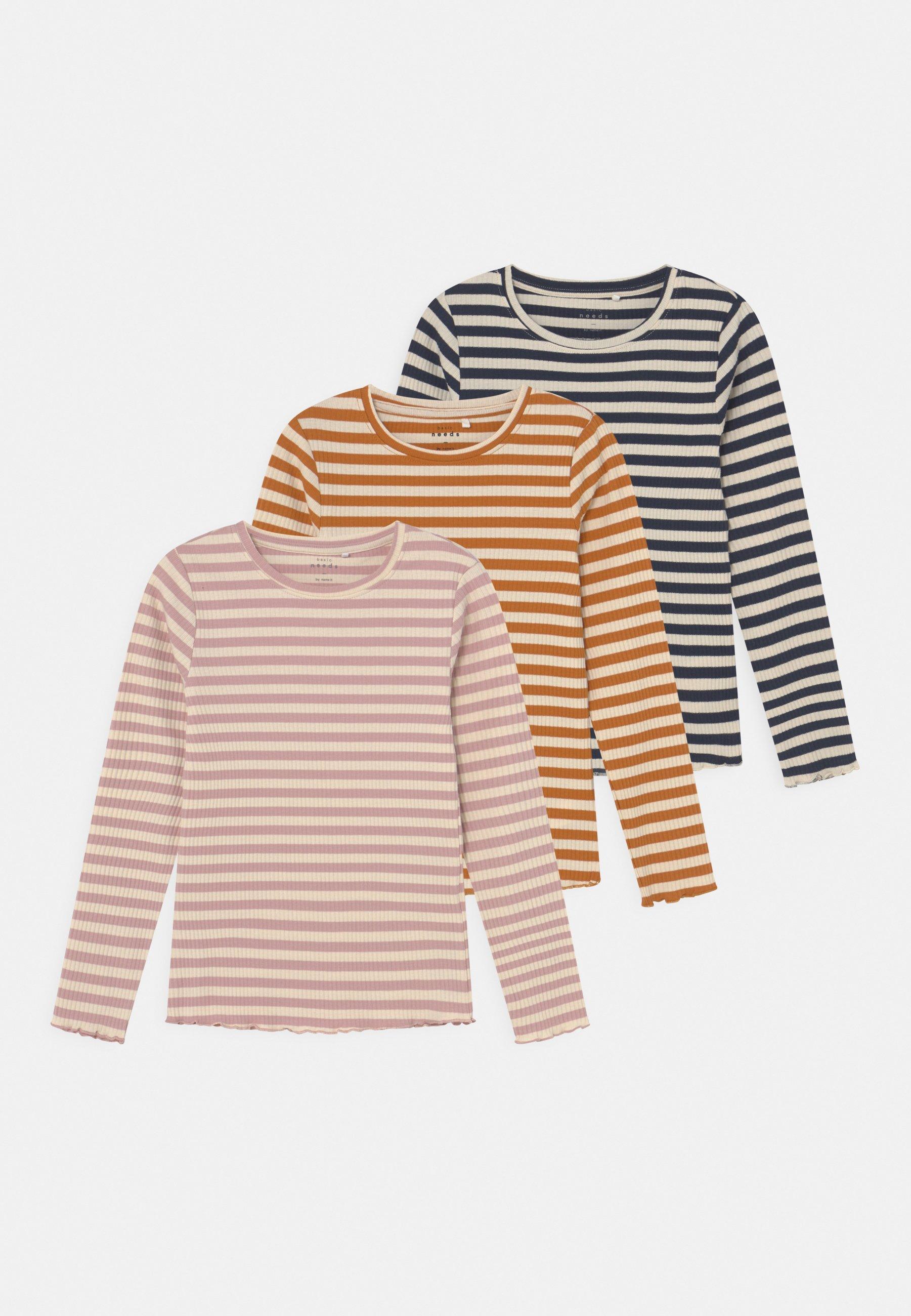Kids NKFVEMMA 3 PACK - Long sleeved top