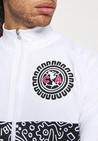 Nike Performance - CLUB AMERICA ANTHEM - Träningsjacka - white/black - 5