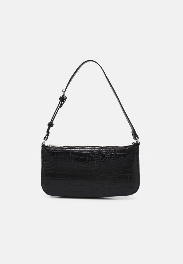 BAG ELLA CROCO - Handtasche - black