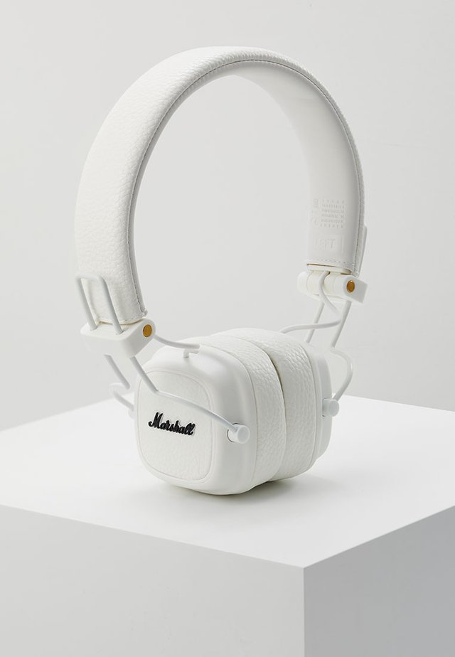 MAJOR III EIN-TASTEN-FERNBEDIENUNG MIT MIKROFON - Headphones - white