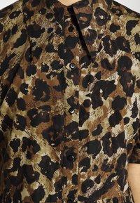 Object - OBJROSITA MINIDRESS  - Skjortklänning - sepia - 5