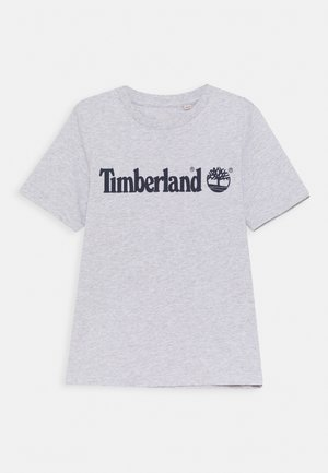 SHORT SLEEVES TEE - T-shirt con stampa - chine grey