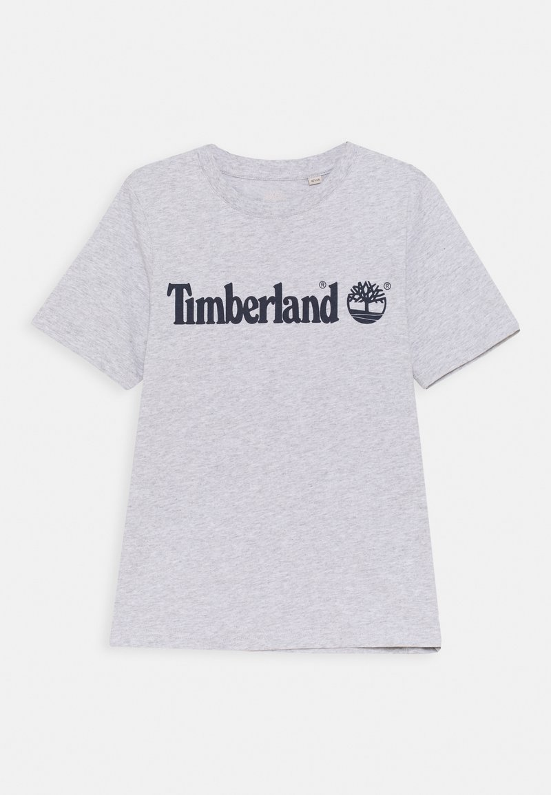 Timberland - SHORT SLEEVES TEE - Print T-shirt - chine grey