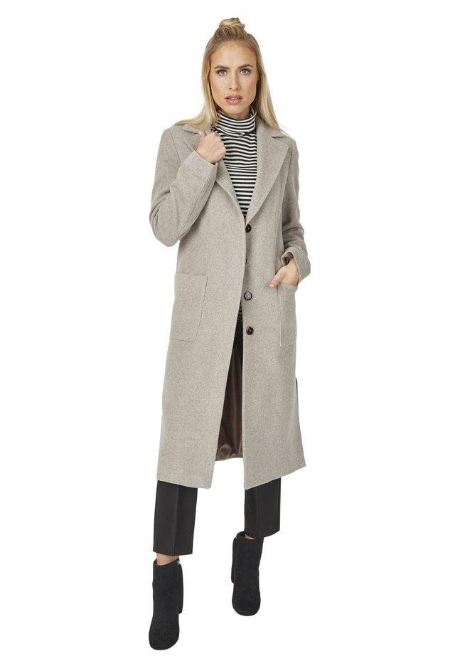 MODISCHER DESIGN - Classic coat - taupe