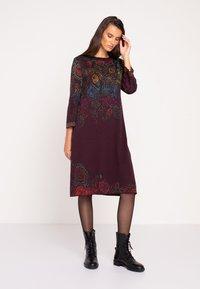 Ivko - Jumper dress - brown red - 1
