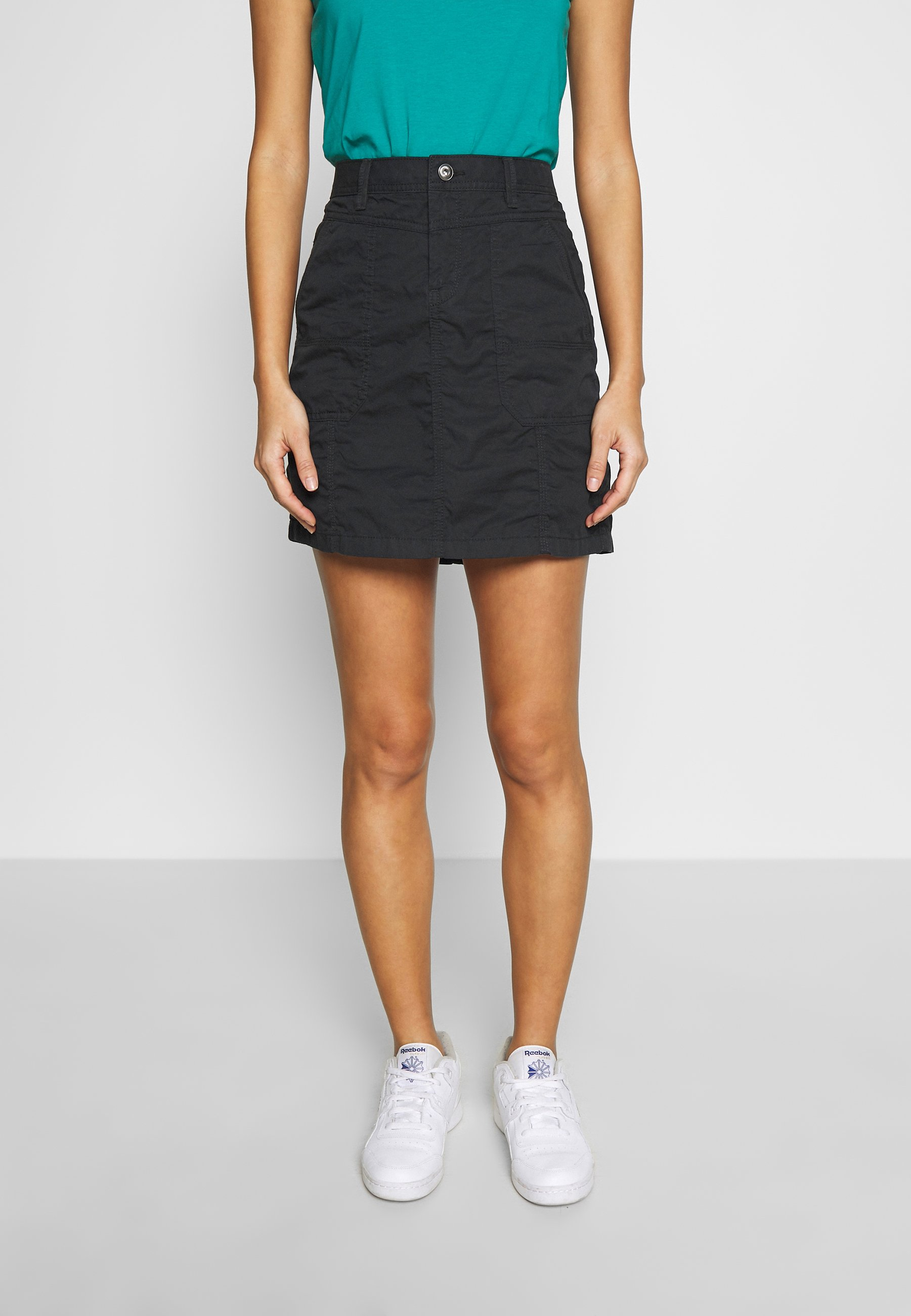 Esprit PLAY SKIRT - A-line skjørt - black