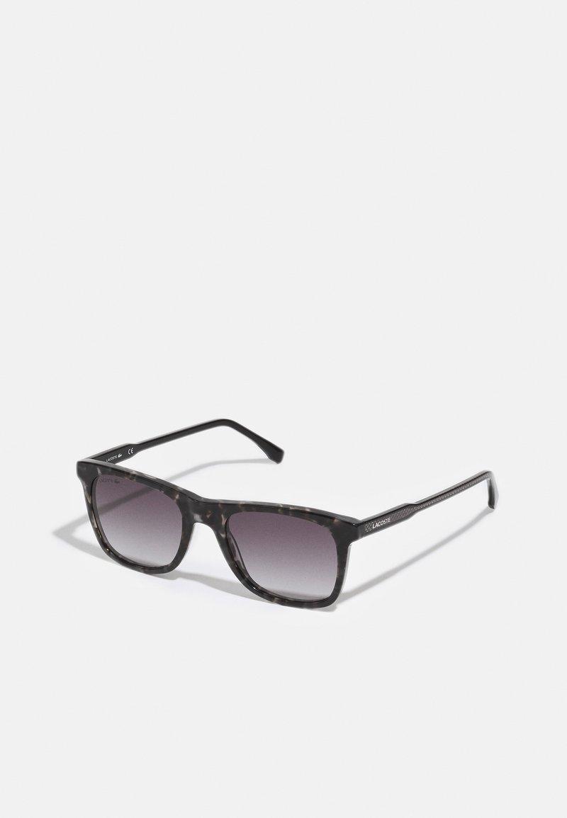 Lacoste - UNISEX - Sunglasses - grey havana