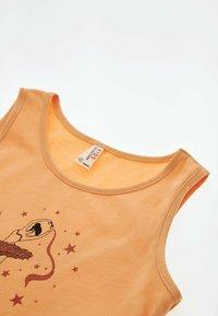 DeFacto - Jersey dress - orange - 2