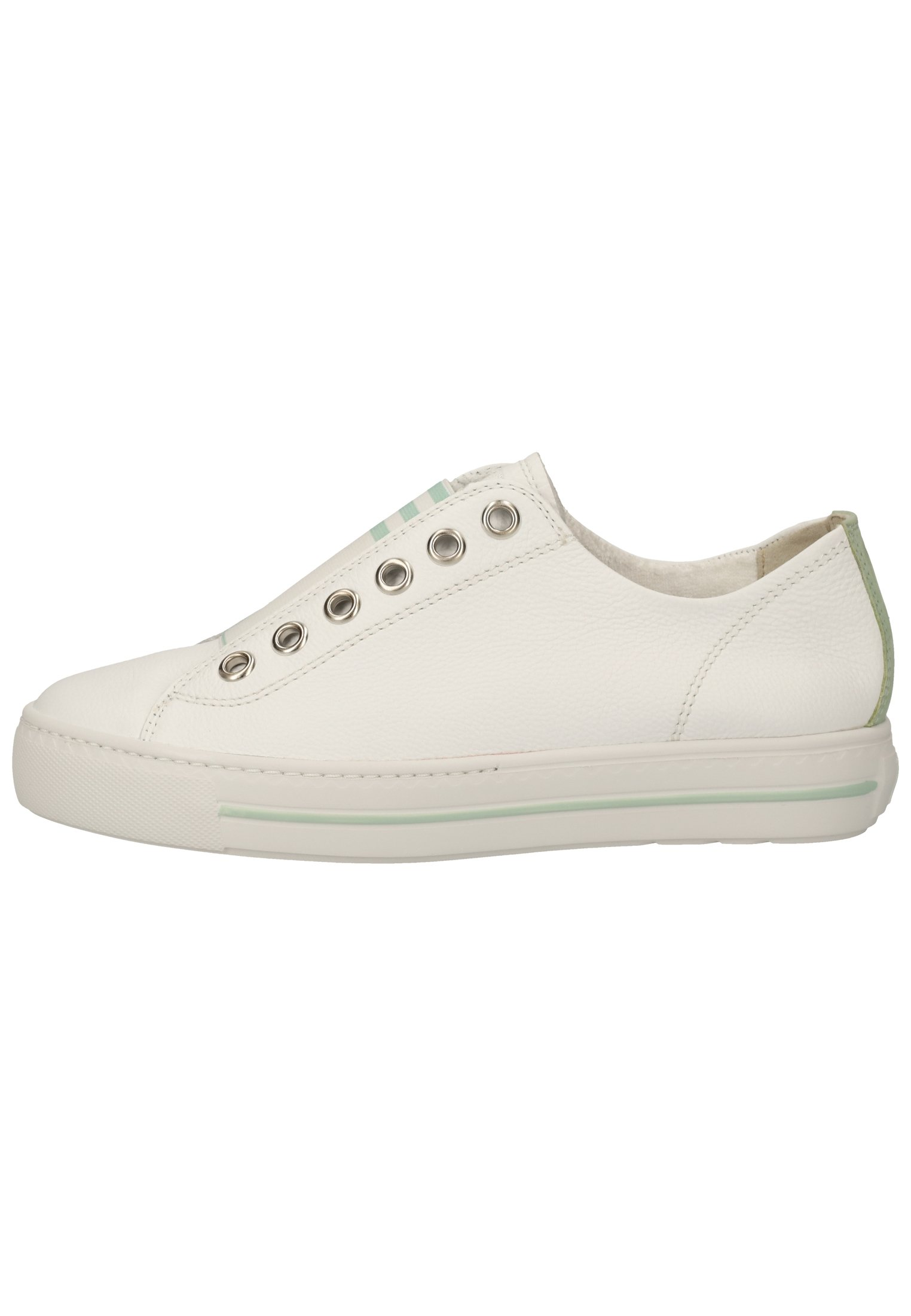Femme Baskets basses - weiß/mint