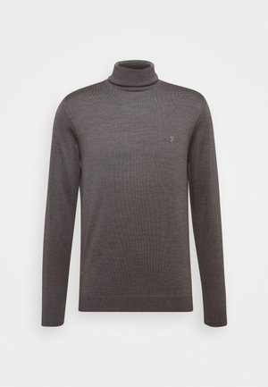 GOSFORTH ROLL NECK EXTRA  - Pullover - rich grey