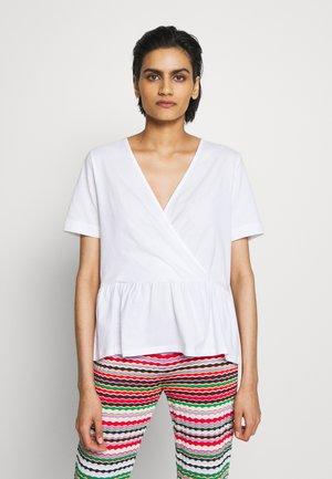 GRACE - Print T-shirt - white