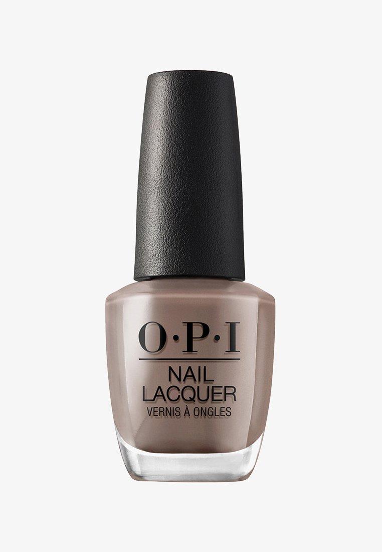 OPI - NAIL LACQUER - Nail polish - nlb 85 over the taupe